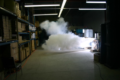 Security Fog Intruder Protection Systems